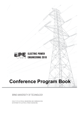 Conference Program Book