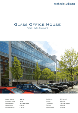Glass Office House - Svoboda & Williams