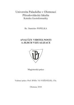 Text diplomové práce (pdf) - Univerzita Palackého v Olomouci