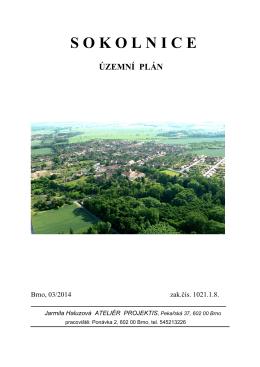Územní plán Sokolnice