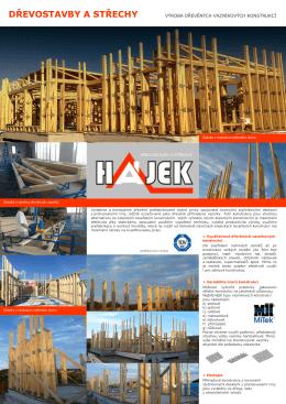 dřevostavby a střechy výroba dřevěných