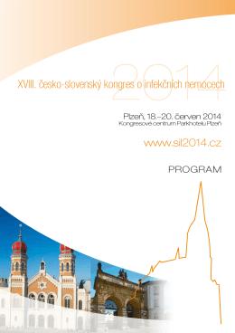 XVIII. česko-slovenský kongres o infekčních nemocech