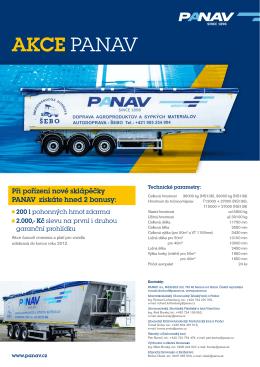 Akce PANAV - sklápěcí návěs [PDF, 306 kB]
