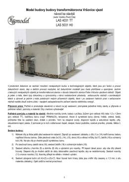Návod na stavbu v PDF