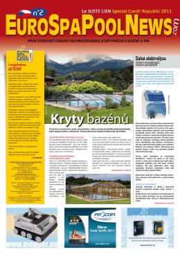 Kryty bazénů - Eurospapoolnews.com