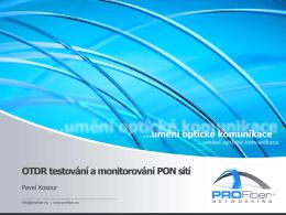 PON - měření a monitoring (iOLM)