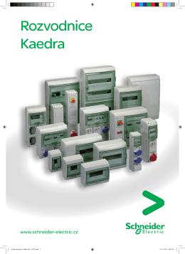 Rozvodnice Kaedra - Elektronický katalog Schneider Electric