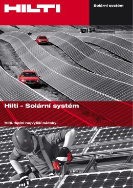 Hilti – Solární systém