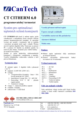 ct citherm 6.0
