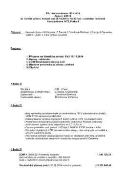 zápis výboru 2014-04