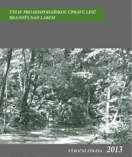 VZ_2013 - Ústav pro hospodářskou úpravu lesů