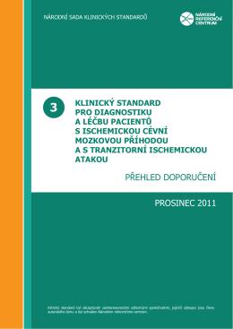 Přehled doporučení - Česká neurologická společnost