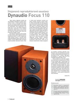 Dynaudio Focus 110