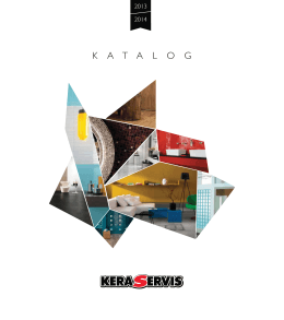 K A T A L O G - Keraservis.cz