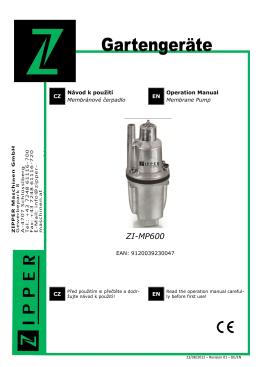 ZI-MP600 - Tocopotrebujes.sk