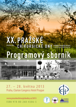 Programový sborník - congressprague