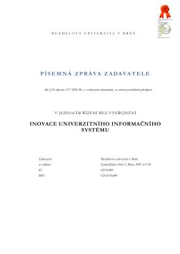 IUIS JŘBU Písemná zpráva zadavatele.pdf - E