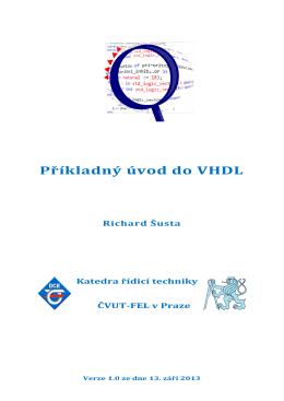 Příkladný úvod do VHDL