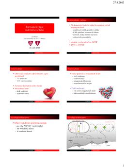 Léčba srdečního selhání