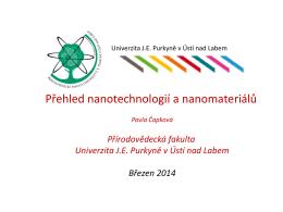 Stabilizace nanočástic