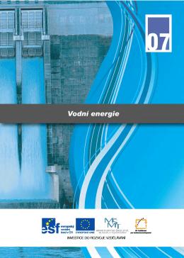 Učebnice 07 - Vodní energie
