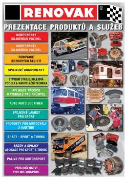Katalog produktů a služeb