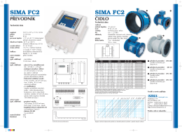 SPECIFIKACE v PDF - SIMA servis s.r.o.