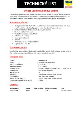 PDF datový list