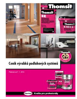 Podl.systémy THOMSIT 2014 od 7/2