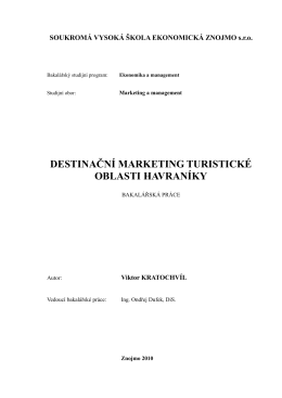 DESTINAČNÍ MARKETING TURISTICKÉ OBLASTI HAVRANÍKY.pdf