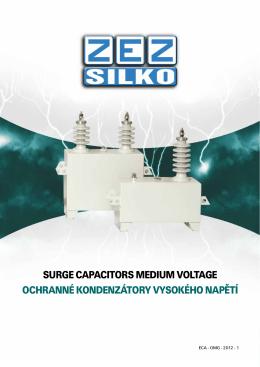 Ochranné VN kondenzátory