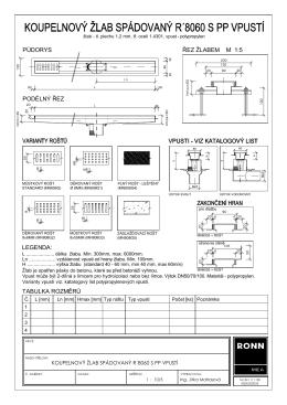R`8060 koupelnový žlab se spádem PP vpusť (.pdf)