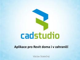 BIM-Fórum 2013 - Aplikace pro Revit