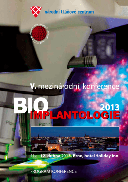 program - bioimplantologie 2013