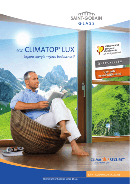 SGG CLIMATOP® LUX