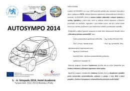 AUTOSYMPO 2014 - Sdružení automobilového průmyslu