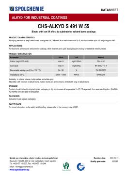 CHS-ALKYD S 491 W 55