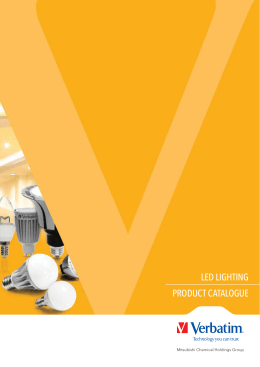 LED LIGHTING PRODUCT CATALOGUE