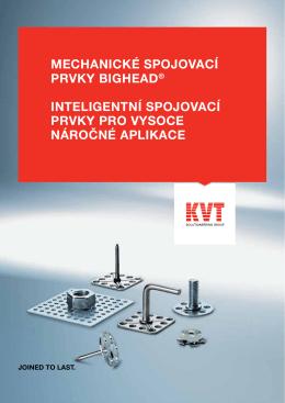 bigHead® – Mechanické spojovací prvky | KVT