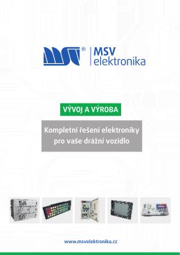 Vývoj a výroba_2013 - MSV elektronika sro