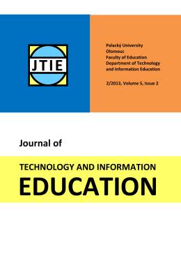 Celé vydání - JTIE - Univerzita Palackého v Olomouci