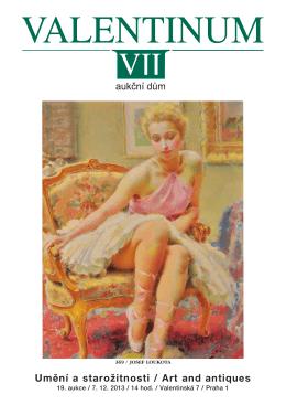 Umění a starožitnosti / Art and antiques