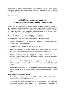 Zdenku, kolegove, - Český institut informatiky, robotiky a kybernetiky