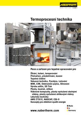 Katalog Termoprocesní technika