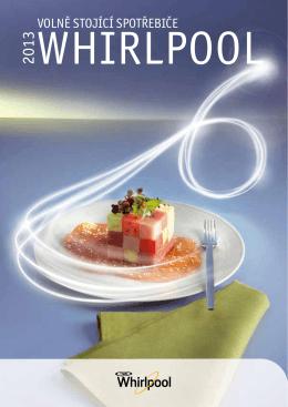 Whirlpool volně stojící spotřebiče
