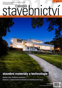 english synopsis - Časopis stavebnictví