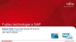 Fujitsu technologie a SAP