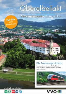 OberelbeTakt - VVO Zweckverband Verkehrsverbund Oberelbe