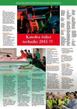 Katedra řídicí techniky 2015