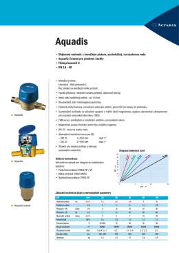 Aquadis - ESL a.s.